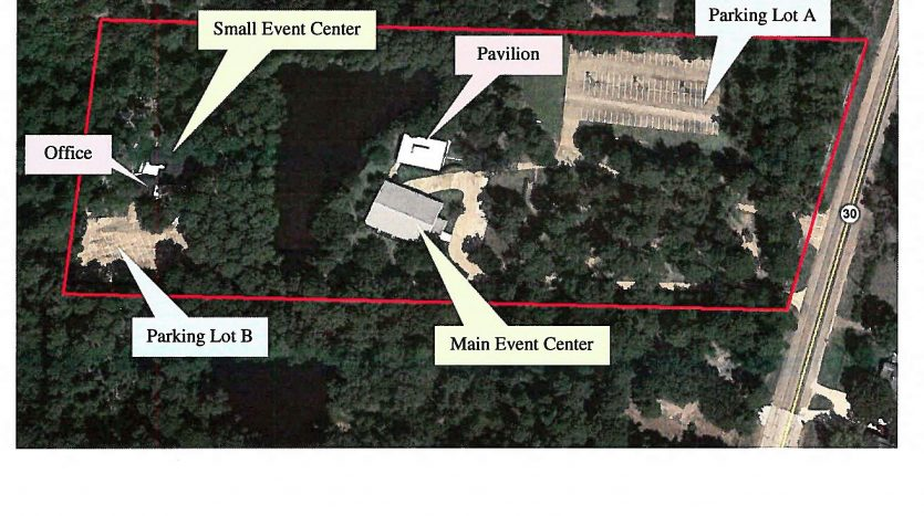 aerial view - property layout